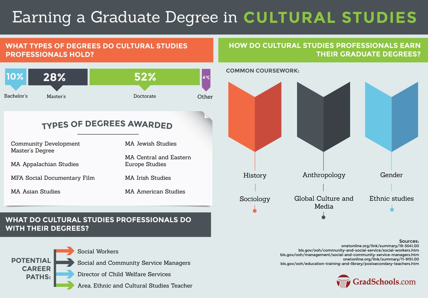 Cultural Studies Programs Information